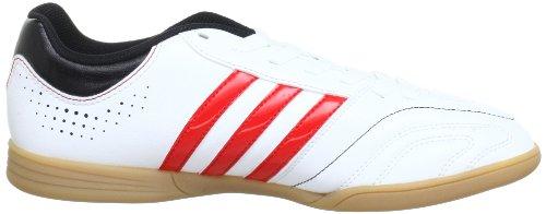 adidas Performance 11Questra IN Q23847 Herren Fußballschuhe Weiß (RUNNING WHITE FTW / VIVID RED S13 / BLACK 1) 7L6YO0