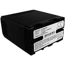 Techgicoo 5200mAh/76.96wh batteria compatibile con Sony pmw-ex1, pmw-ex3, pmw-ex1r, pmw-f3, pmw-f3l, pmw-f3K, pmw-100, pmw-150, pmw-160e altri