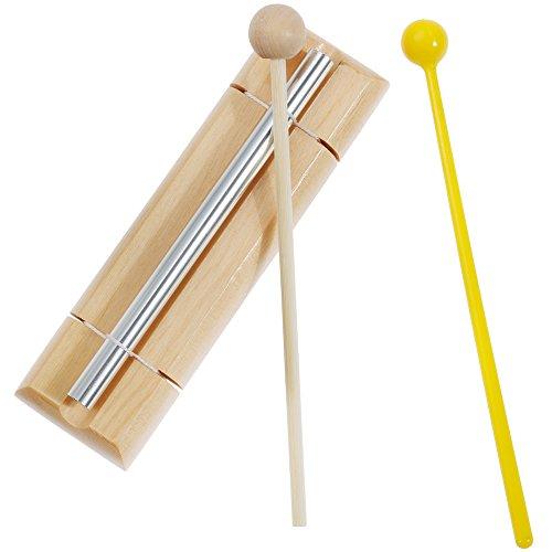 Lictin Energy Chime Klangstab 1-reihig mit Holzschlägel und Kunststoffschlägel