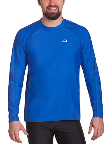 IQ-Company Herren UV-Schutz T-Shirt IQ 300 Watersport Long Sleeve, Dark-Blue, XL, 649122_2445