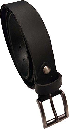 ceinture homme cuir noir taille réglable fabriquée en France