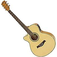 Guitare électro-acoustique Pan Coupé Simple par Gear4music Gaucher