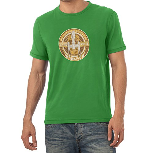 TEXLAB - Y-Wing Pilot Logo - Herren T-Shirt Grün