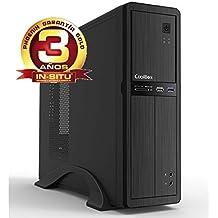 Phoenix Technologies OBERON-2416 - Ordenador de sobremesa (WiFi, Intel Core i3 6100, memoria RAM de 4 GB, disco duro de 500 GB) color negro