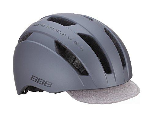 BBB Metro BHE-55 Helm matt dunkel grau Kopfumfang M | 55-58cm 2019 Fahrradhelm