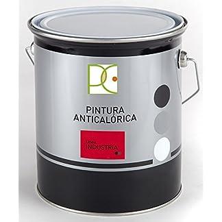 Pintura ANTICALORICA 300º Negro Grafito 0,75 LTS. + Abridor de Regalo