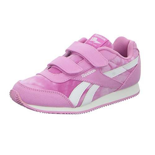 Reebok Baby Jungen Royal Cljog 2GR 2V Sneakers, Rosa / Blanco (Icono Pink / Wht), 27 EU