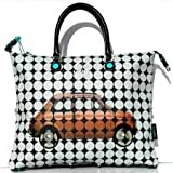 Gabs shopping bag convertible Fiat 500 multicolor