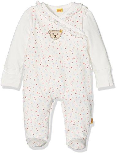 Steiff Baby-Mädchen Strampler 2tlg. Set Stampler o. Arm + T-Shirt, Mehrfarbig (Allover 0003), 62
