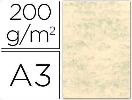 Michel 35087 - Cartulina marmoleada, A3, color gris