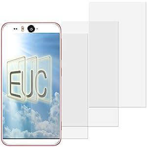 3 x Displayschutzfolie klar/wie unsichtbar für HTC Desire Eye Teilfolie
