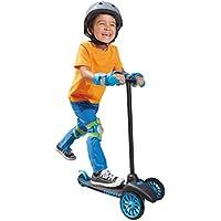 Little Tikes Patinete de 3 ruedas para niños, color azul y negro (638152)