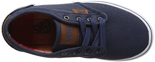 Vans  Yt Atwood Dx, Sneakers Basses garçon Bleu (Waxed Dress Blues)