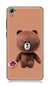 HTC Desire 826 3Dimensional High Quality Designer Back Cover by 7C