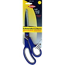 Kleiber 250 mm Stainless Steel Dressmaker Scissors, Blue