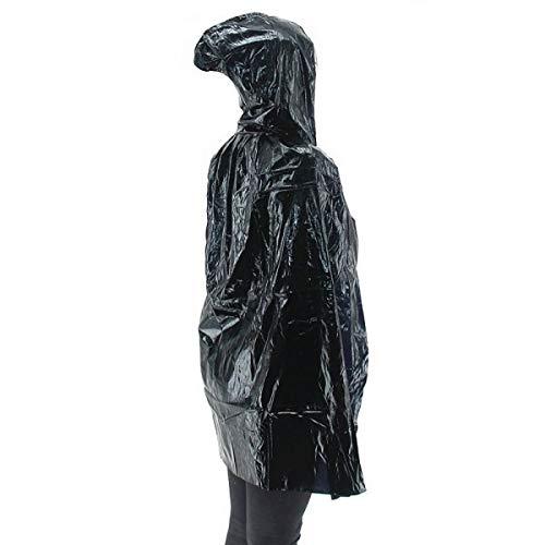 Fancy Dress, Costume Short Adult/Kids Shiny Black ()