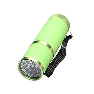 Avalva 5700-Volt Torch Aluminium Green