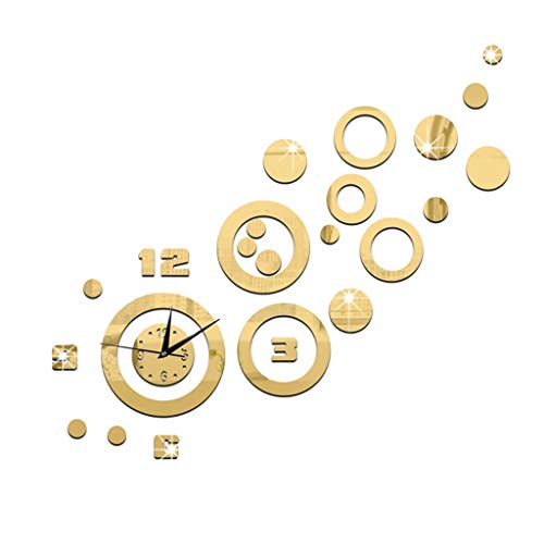 ZHZLX-wall clock Reloj De Pared Decorativo Creativo - Etiqueta De La Pared...