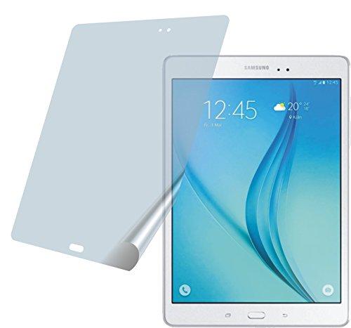Samsung Galaxy Tab A 9.7 (2 Stück) PREMIUM Displayschutzfolie Bildschirmschutzfolie ANTIREFLEX Schutzhülle Displayschutz Displayfolie Folie