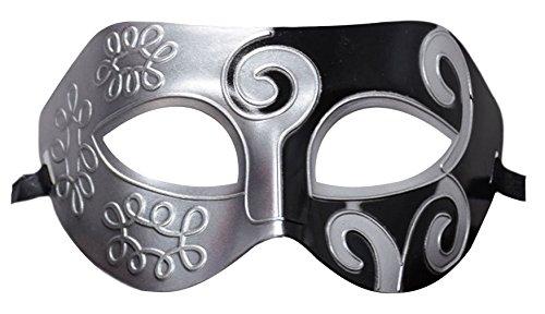 EOZY Herren Mitternacht Venetianische Maskerade Maske Halloween Karneval Ritter Kostüm Masquerade Mask Partei Color 1