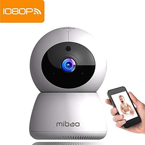 WLAN Kamera Überwachungskamera 1080P IP Camera WiFi Mibao mit Nachtsicht 2 Wege Audio Smart Schwenkbar Home Camera Haustier Baby Camera IP Kamera App Kontrolle Unterstützt Fernalarm