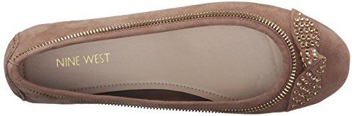 Nine West Winetta Daim Chaussure Plate Natu
