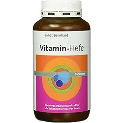 Sanct Bernhard Vitamin-Hefe-Kapseln- 500 Tabletten, 1er Pack (1 x 271 g)
