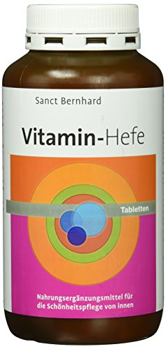 Sanct Bernhard Vitamin-Hefe-Kapseln- 500 Tabletten, 1er Pack (1 x 271 g)
