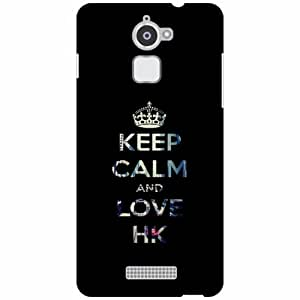 Coolpad Note 3 Lite Back cover - Keep Calm Designer Cases