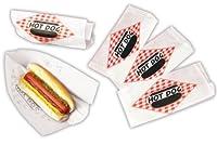 Hot Dog Double Open Paper Bag (5000 Bags Per Case)