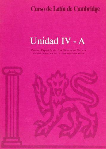 Curso de latín de cambridge libro del alumno unidad iv-a: versión española: 5 (manuales universitarios) EPUB Descargar gratis!