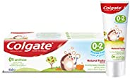 Colgate Kids Toothpaste Natural Fruity Flavour, 0-2 Years, 40 ml