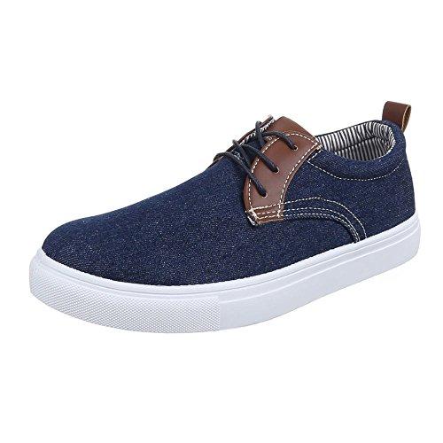 Ital-Design - Scarpe basse Uomo Blu (blu)