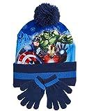 Bufanda Gorro Guantes para NIños Spiderman Marvel Avengers Accesorios Invierno Gorros Niña Paw Patrol La Patrulla Canina Frozen (Avengers)