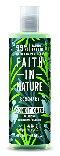Faith In Nature Rosemary Stimulating Conditioner For Normal To Greasy Hair 400ml