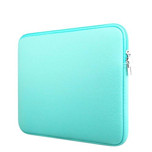 14 Pulgadas Funda para MacBook Retina/Impermeable Ordenador Portátil Caso Sleeve Case/Estilo Elegante Bolsa Protectora,Menta Verde 1