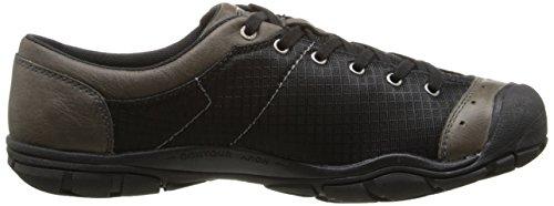 Keen  CNX II Lace Mesh, Chaussures à lacets et coupe classique homme Noir - Noir