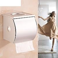 Spazio alluminio carta velina titolare/Tessuti/Box/Vassoio di servizi igienici bagno/ carta impermeabile-A