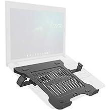 Umi. Essentials - Elevador de monitor/Soporte de escritorio bloqueable para portátil con clip lateral retráctil