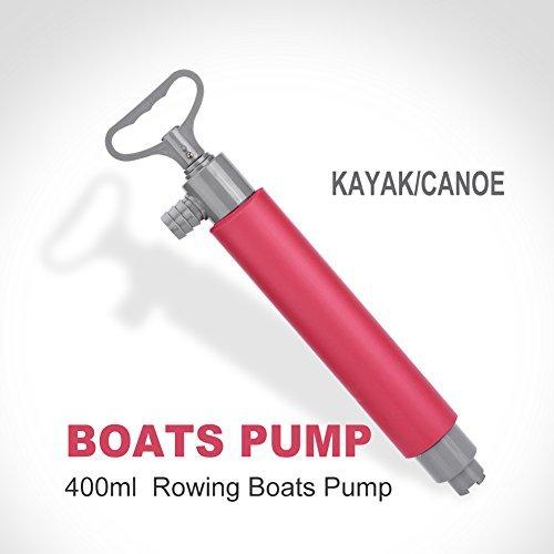 Kajak Handpumpe, schwimmend, manuell, Bilgepumpe, Wasserpumpe, Kajak-/ Kanuzubehör