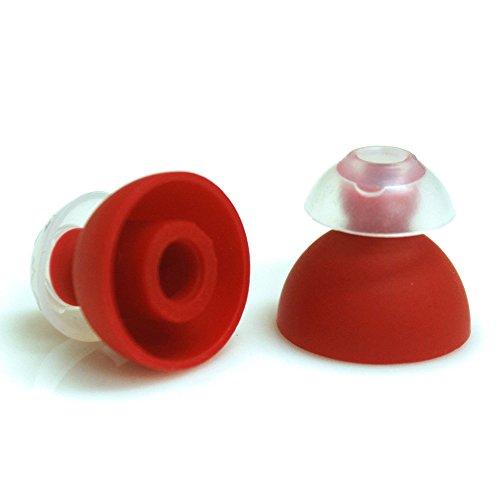 SpinFit CP240-M Embouts de Rechange en Silicone breveté pour Casque SHURE Taille Moyenne Diamètre de la buse 4 mm 1 Paire 3 mm Insert Inclus