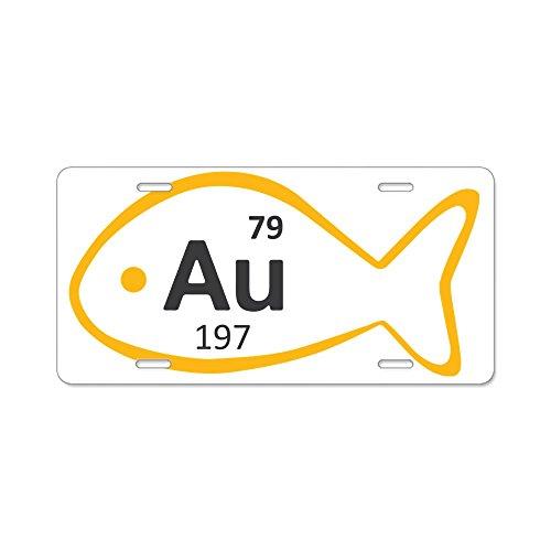 cafepress-goldfish-aluminum-license-plate-targa-in-alluminio-anteriore-targa-vanity-tag