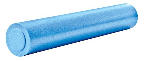 OLIVER Pilatesrolle Massage Pilates Fitness Gymnastik Therapie Rolle blau 90 cm