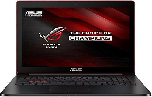 Asus G501JW-CN030T 39,6 cm (15,6 Zoll) Notebook (Intel Core i7 4720HQ, 16GB RAM, 128GB SSD, NVIDIA GF 960M 4GB, Win 10 Home) schwarz