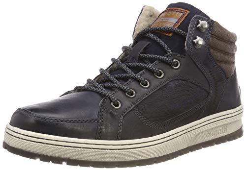 bugatti Herren 321334513200 Klassische Stiefel, Blau, 45 EU -