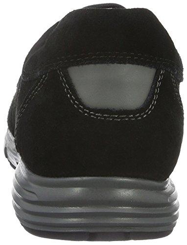Geox Uomo Dynamic D, Baskets Basses Homme Noir (Blackc9999)