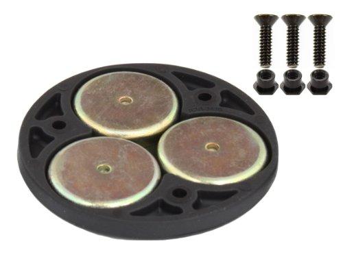 RAM MOUNT Triple Magnetic Base Adapter-Mounting Kits Mount-adapter-kit