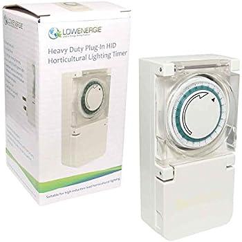 Hydroponics LumenLite 600w 13 Amp Light Grow 600 watt 13a Timer