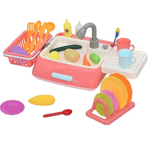 Mailfourn Fregadero Cocina Juguetes Kit Limpieza niños