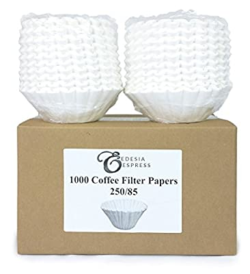 1000 x 3 Pint Commercial Coffee Filter Papers by EDESIA ESPRESS